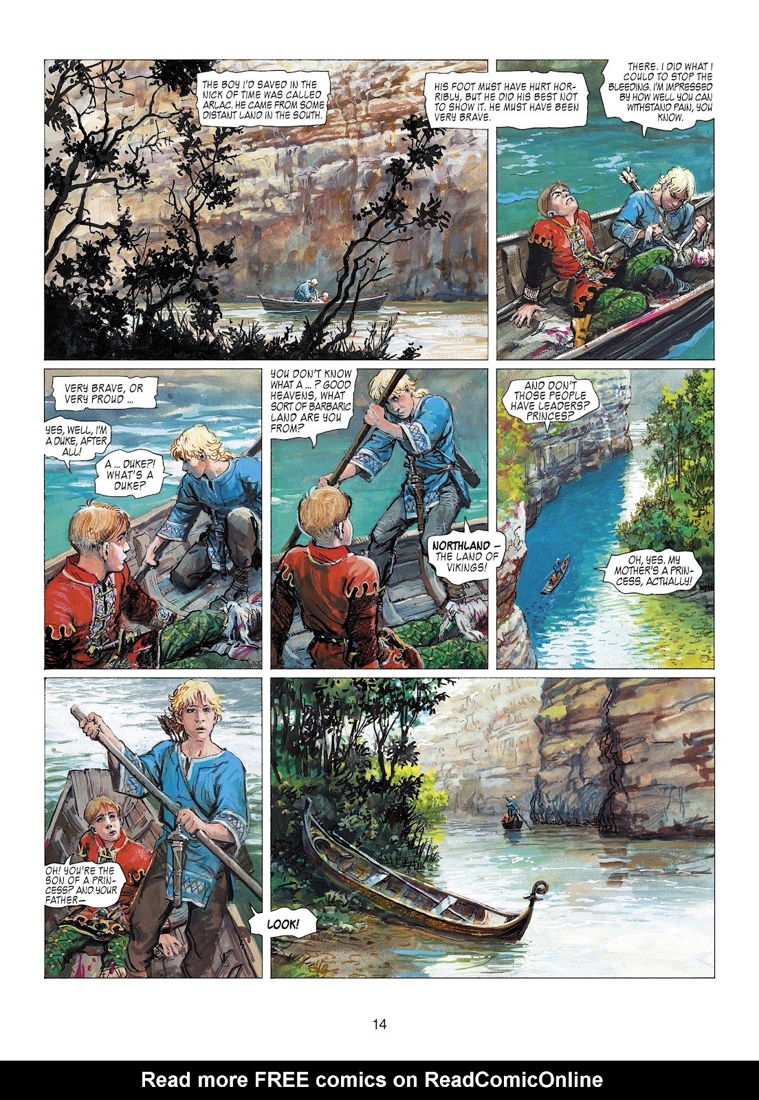 Read online Thorgal comic -  Issue #22 - 16