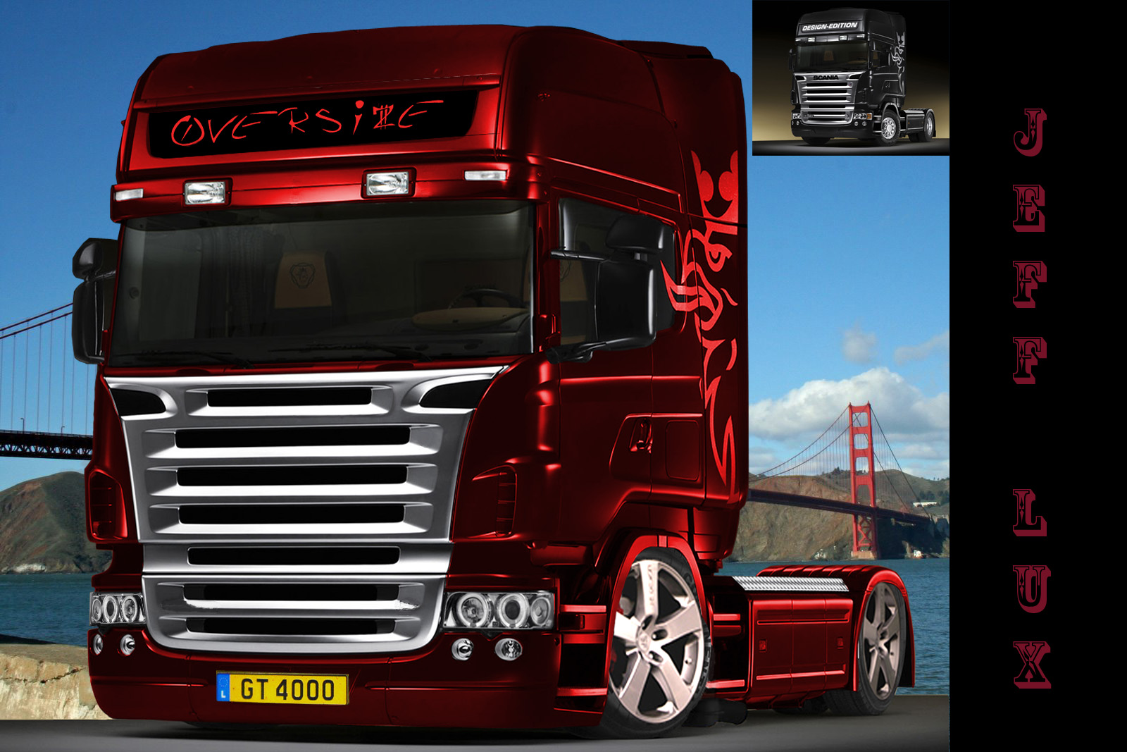 11th Virtual Car Tuning Battle Scania Truck We Are