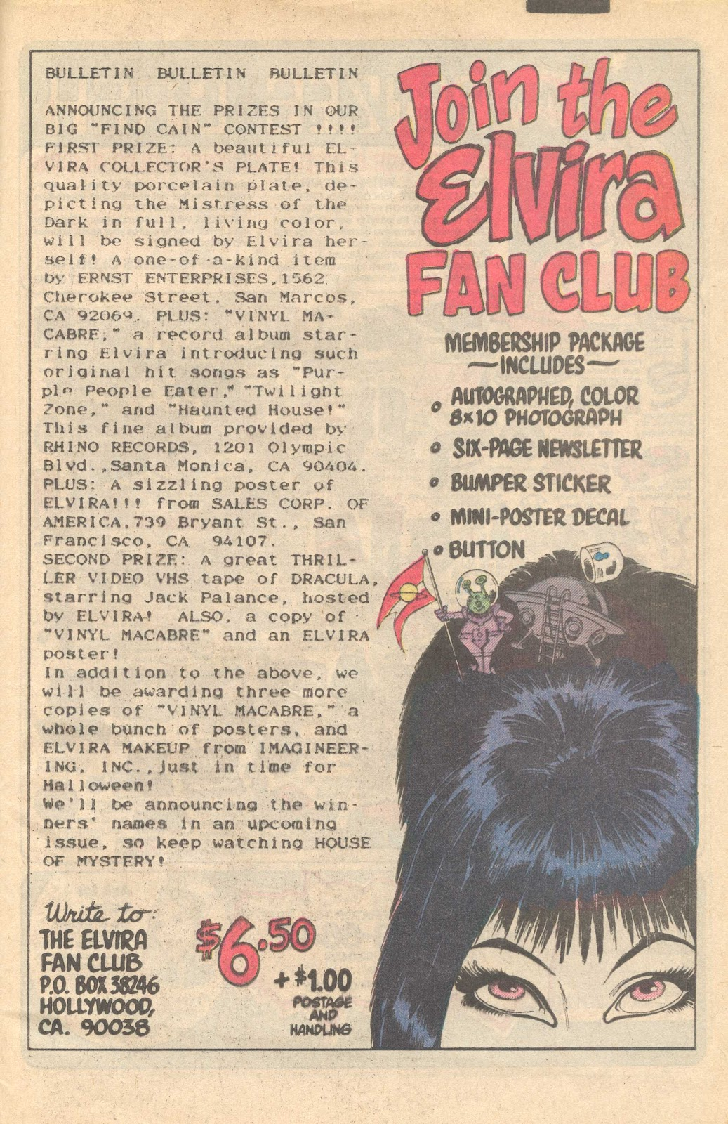 Elvira's House of Mystery Issue #7 #8 - English 25