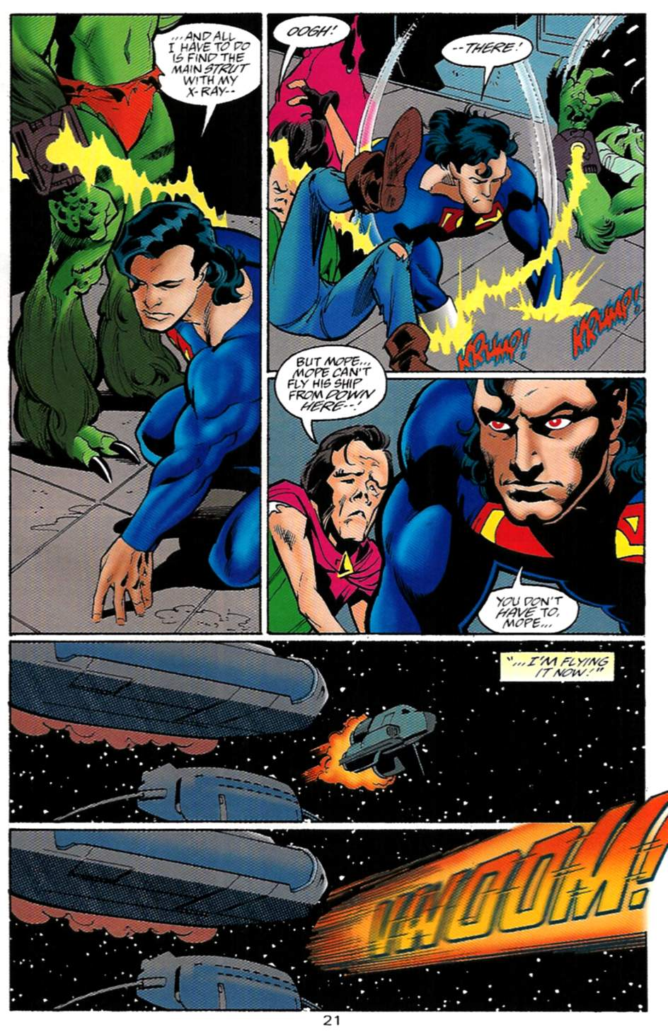 Read online Adventures of Superman (1987) comic -  Issue #529 - 22
