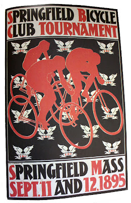 Springfield Massachusetts bike poster