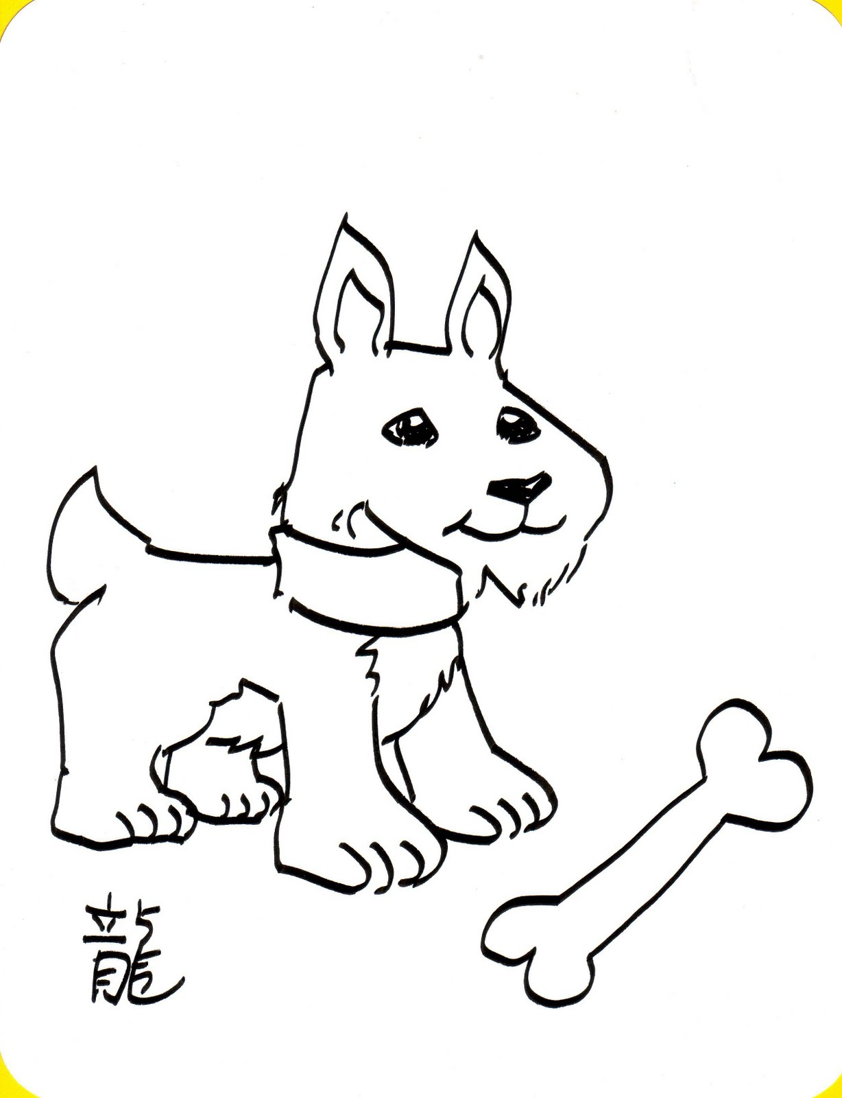 Kid Sketches: Coloring templates for upcoming classes at
