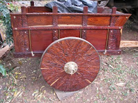 Sarchi hand carved ox cart