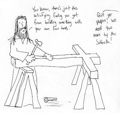 HolyJuan: Jesus was a carpenter