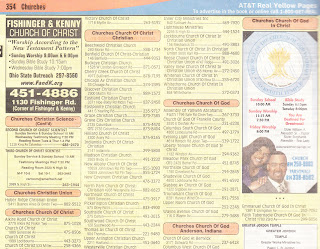 HolyJuan: Yellow Pages and the Jesus Fish