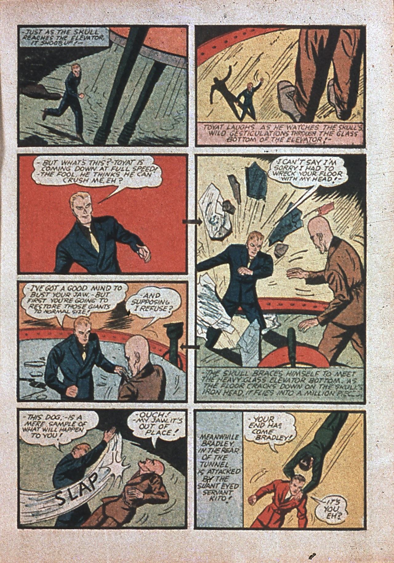 Read online Amazing Man Comics comic -  Issue #7 - 28