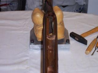 Glass Bedding Rifle