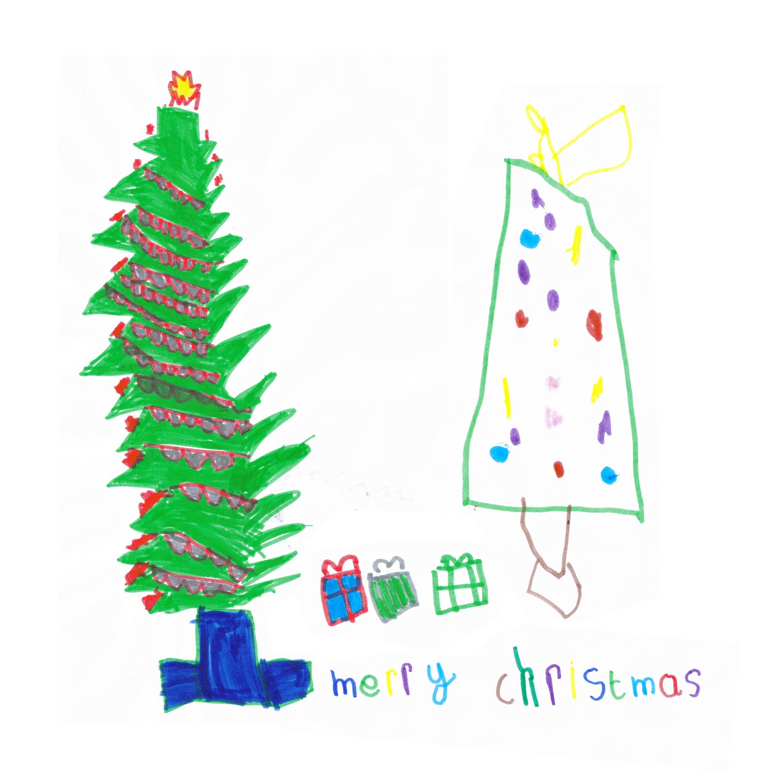 Gooseberrymoon: This Year's Children's Christmas Card