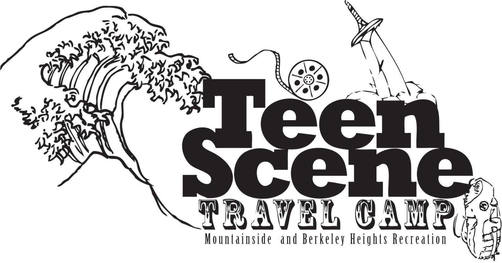 Samuel Deangelis Teen Scene Travel Camp Logo