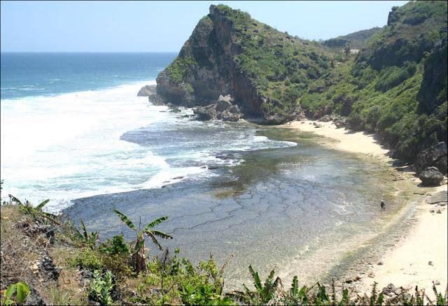Pantai+Nguyahan Peta Wisata (Pantai) di Gunungkidul, Yogyakarta