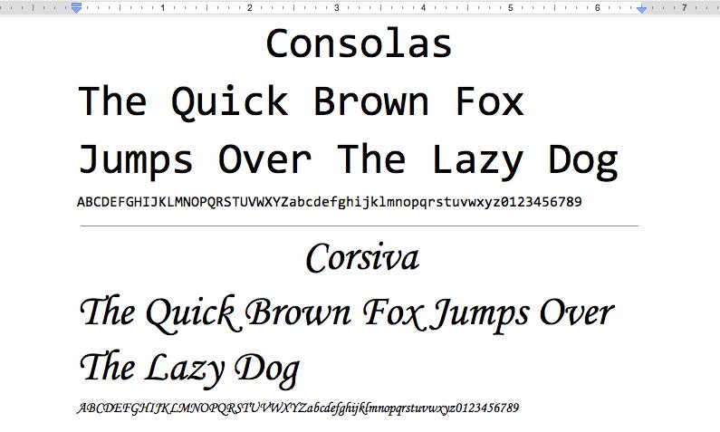 Google Drive Blog: A more fontastic Google Docs