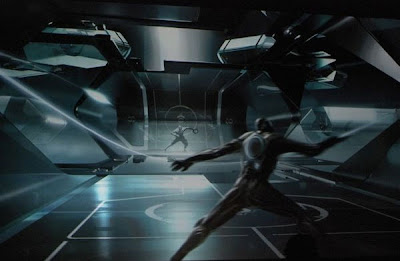 A game in the movie Tron 2 aka Tron Legacy