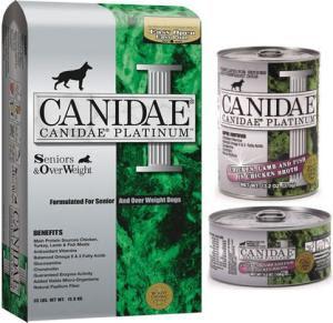 Canidae Platinum Senior Dog Food Reviews