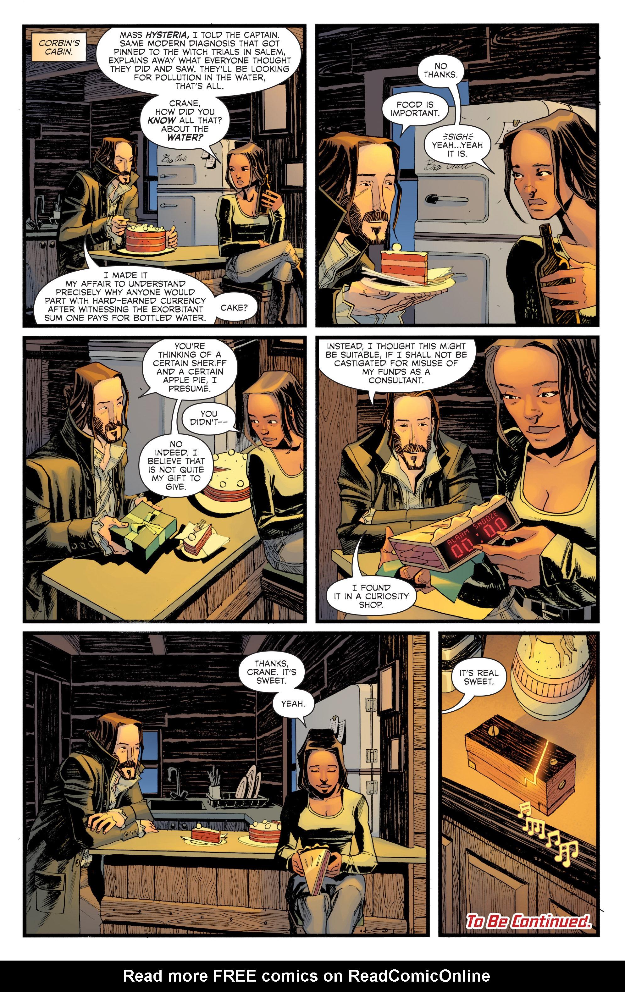 Read online Sleepy Hollow (2014) comic -  Issue #1 - 22