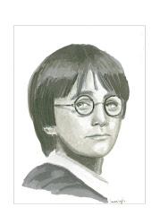 potter harry portrait draw drawings deviantart