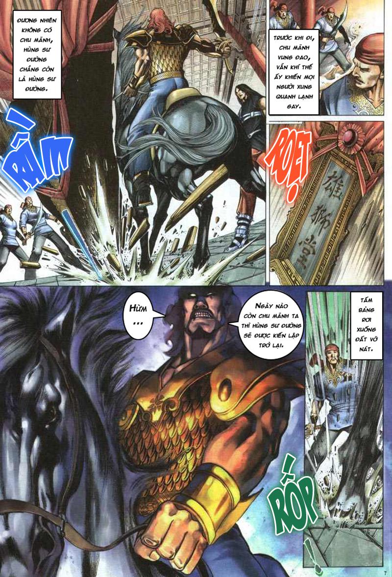 Anh hùng vô lệ chap 5 trang 8