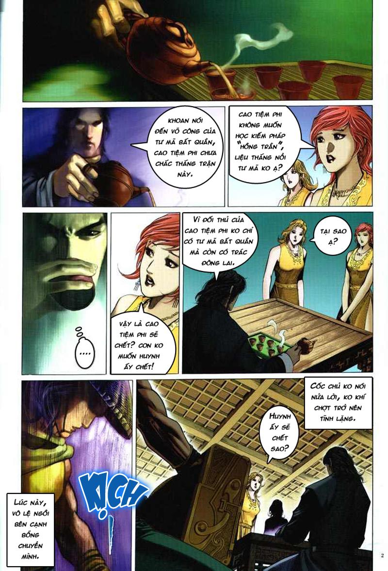 Anh hùng vô lệ chap 5 trang 3