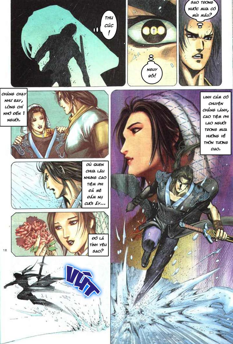 Anh hùng vô lệ chap 5 trang 19