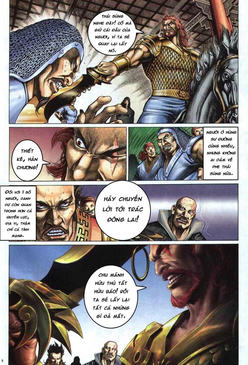 Anh hùng vô lệ chap 5 trang 9
