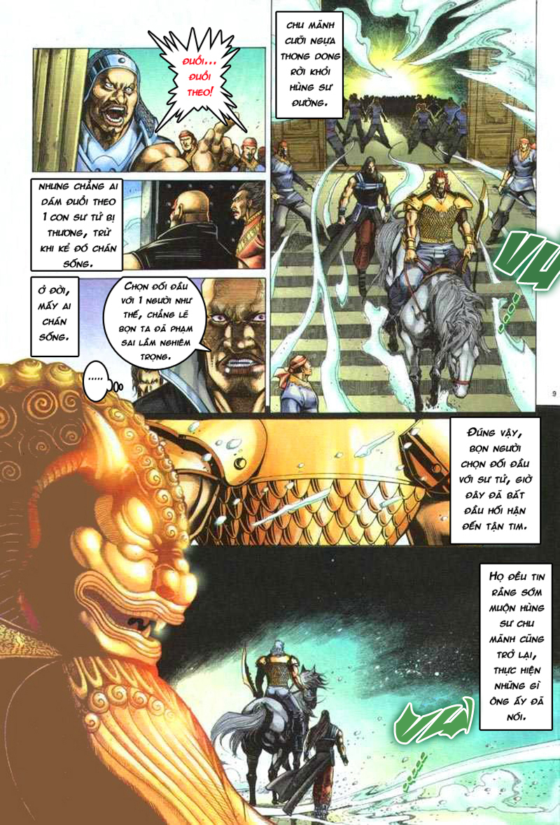 Anh hùng vô lệ chap 5 trang 10