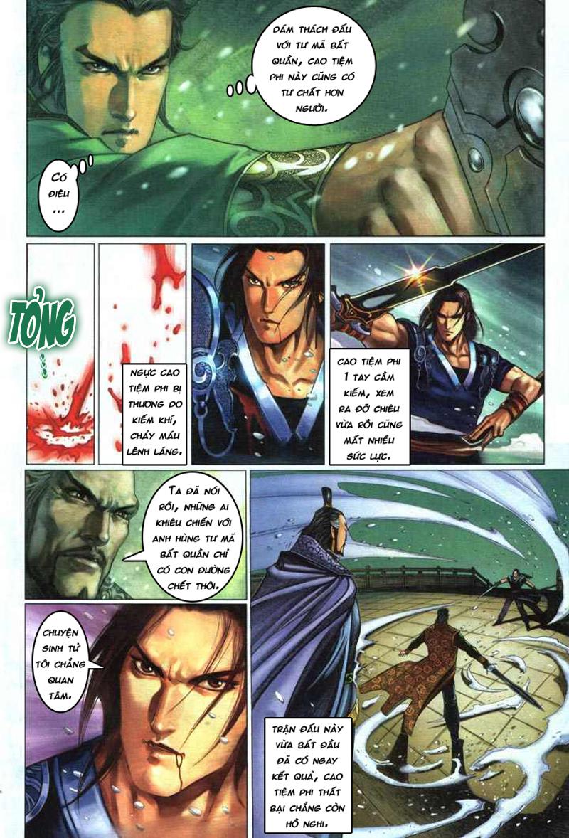 Anh hùng vô lệ chap 5 trang 13