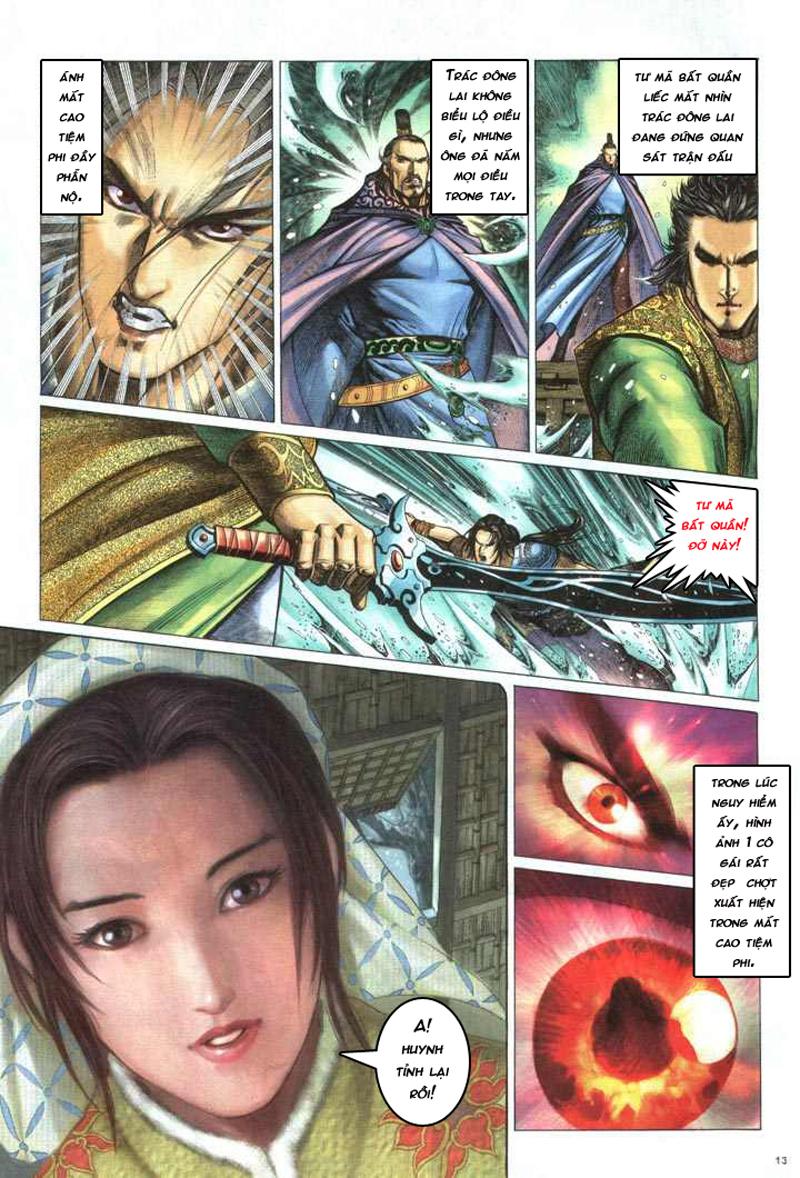 Anh hùng vô lệ chap 5 trang 14