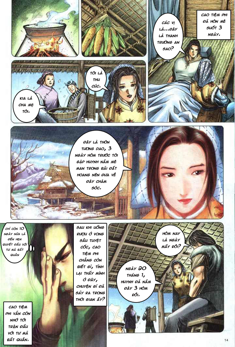 Anh hùng vô lệ chap 5 trang 15