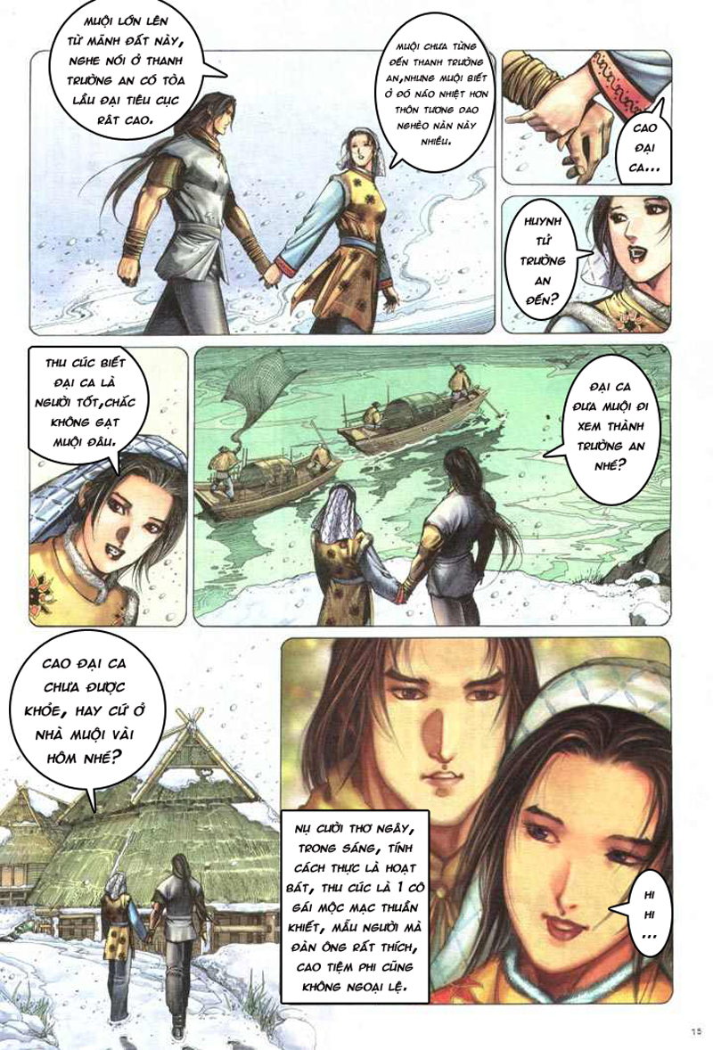 Anh hùng vô lệ chap 5 trang 16