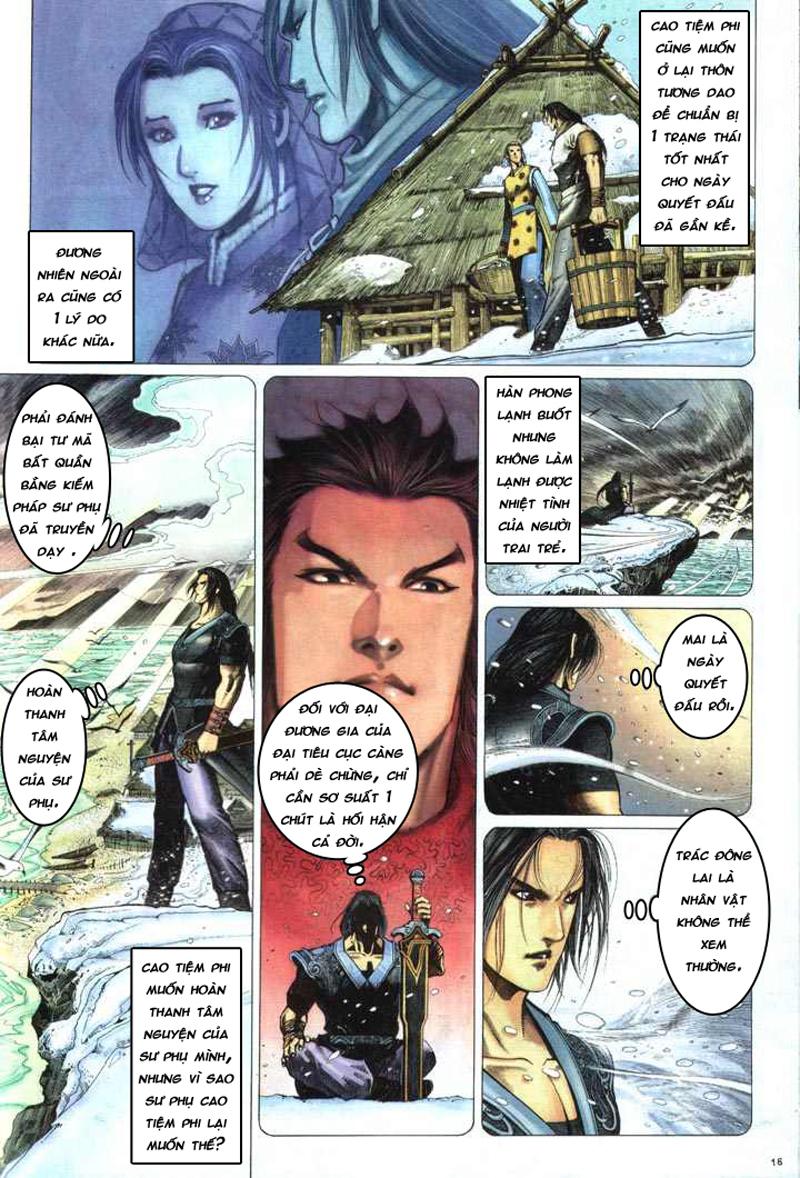 Anh hùng vô lệ chap 5 trang 17