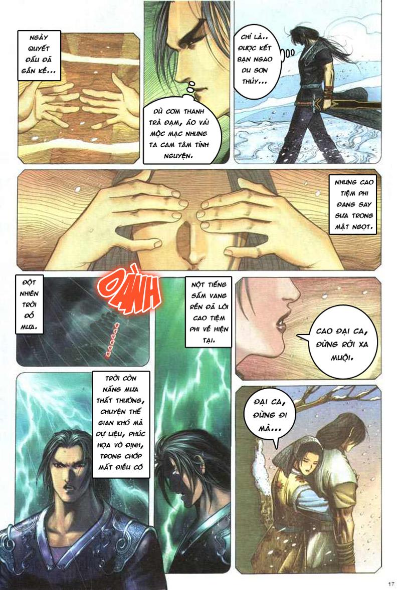 Anh hùng vô lệ chap 5 trang 18