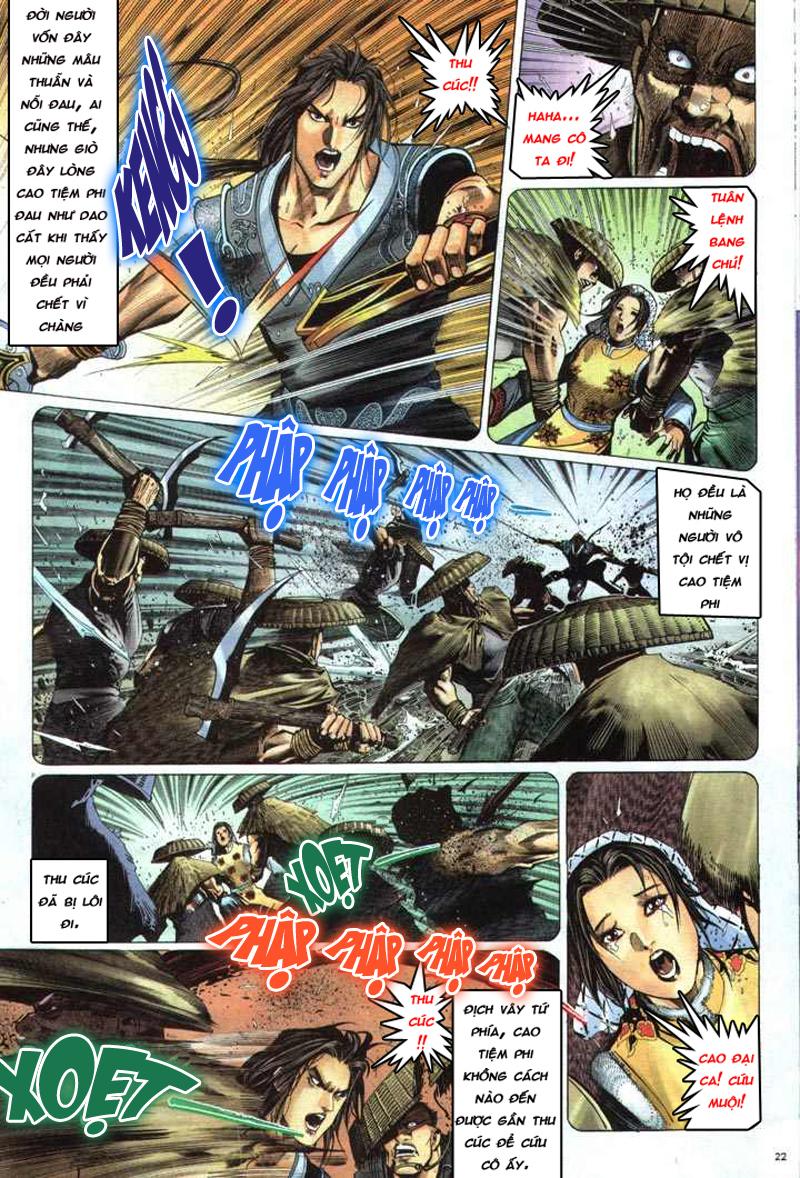 Anh hùng vô lệ chap 5 trang 23