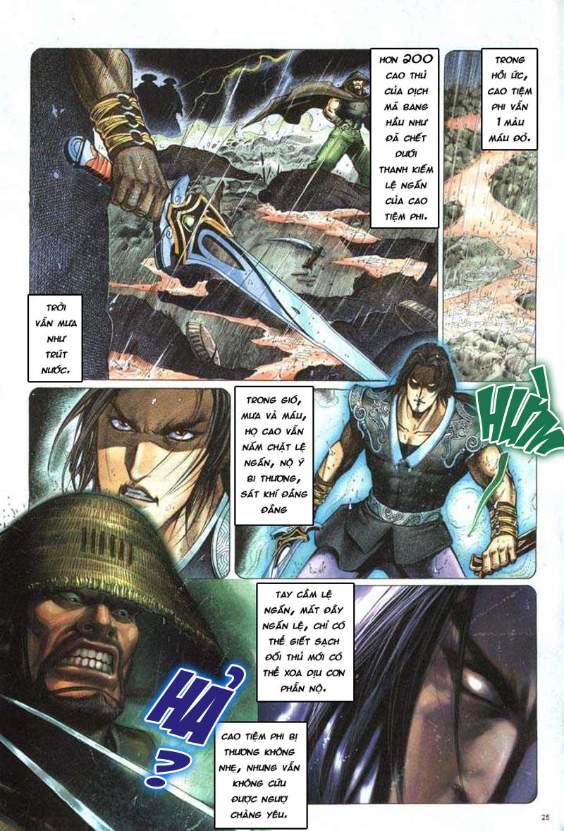 Anh hùng vô lệ chap 5 trang 26