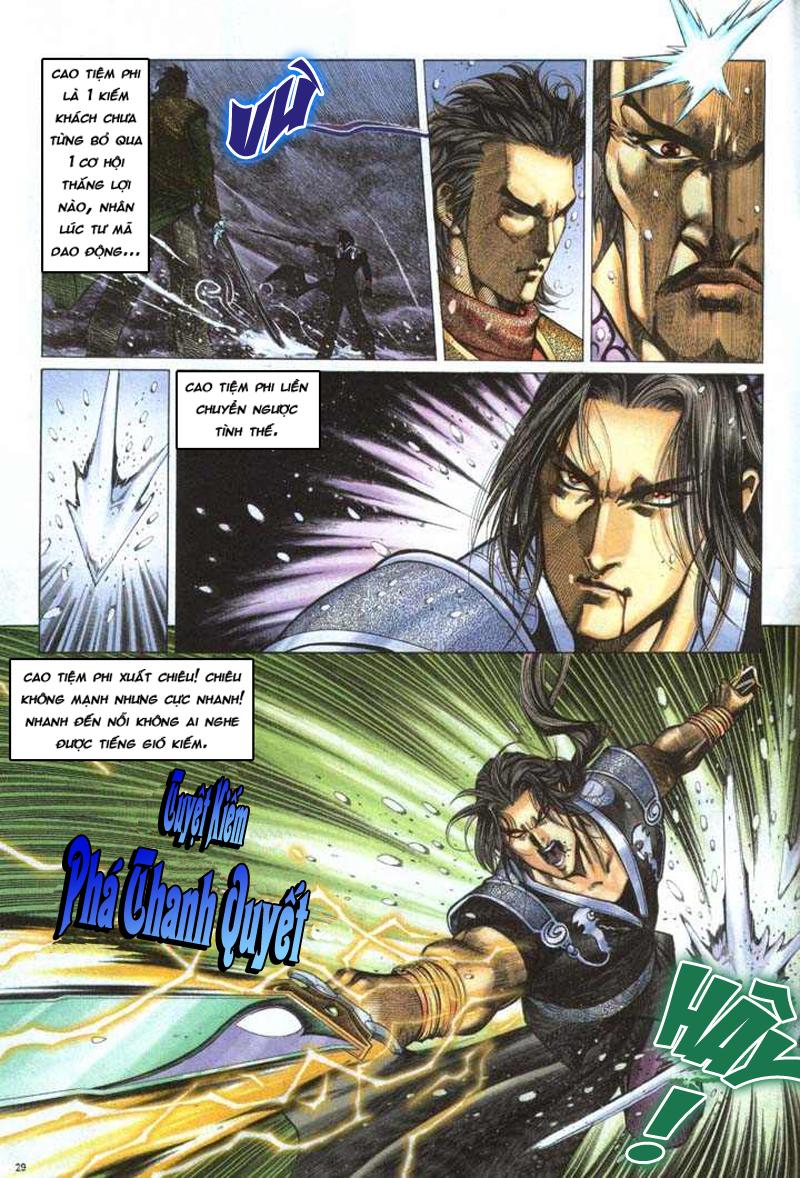 Anh hùng vô lệ chap 5 trang 30