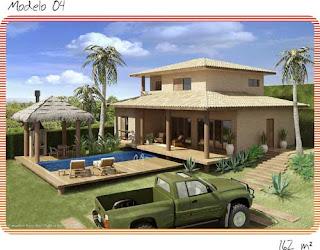 Sustentabilidade do mundo modelos de casas ecol gicas for Casa moderna haddoz
