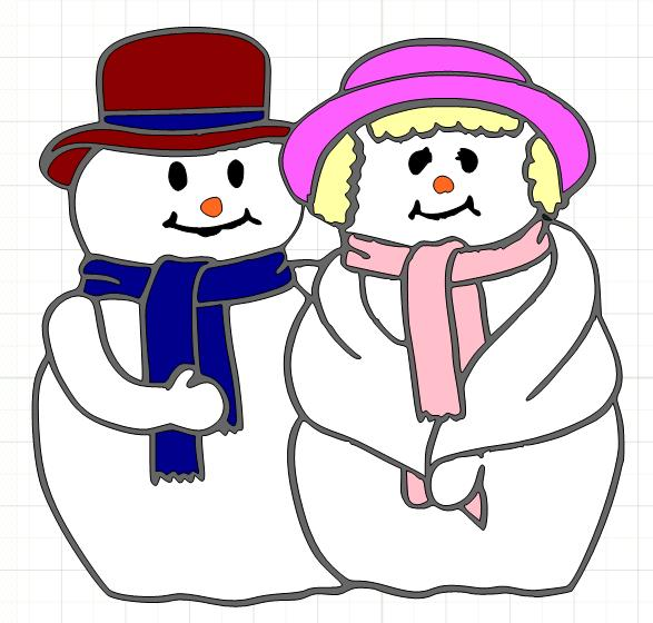 Mr Snowman On Christmas Is Getting Cold Coloring Page: KathyB's Little Corner: November 2010