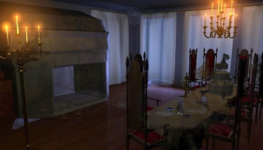 Courtney Brooke Vaughan: Miss Havisham's Dining Room