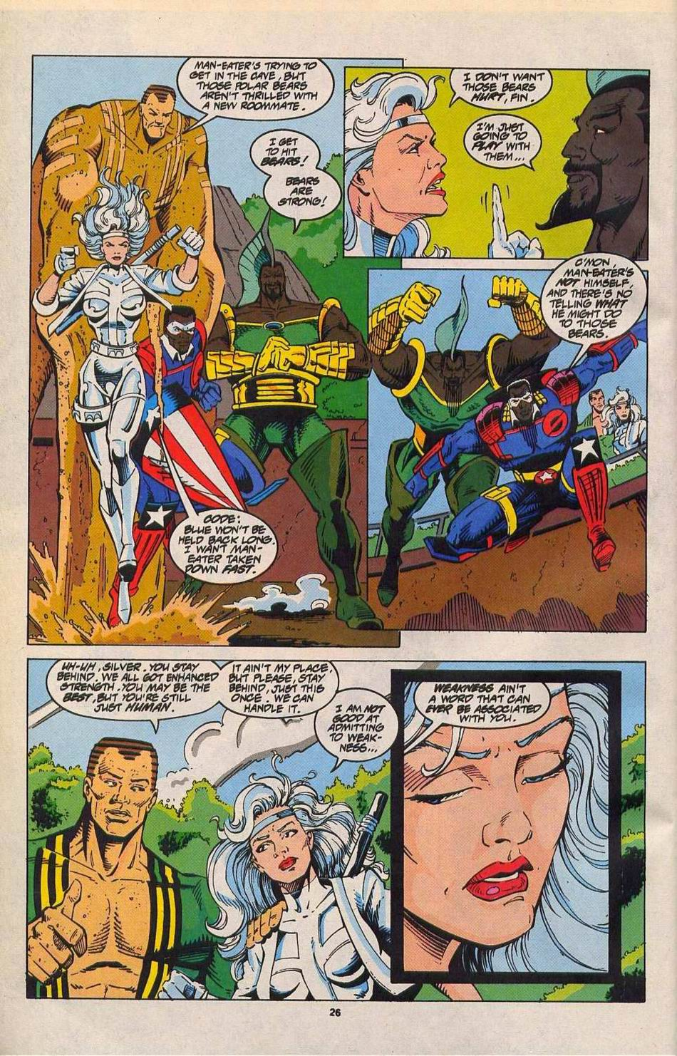 Read online Silver Sable and the Wild Pack comic -  Issue #27 - 20