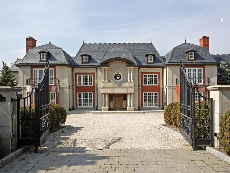 Englewood French Mega Chateau Homes Of The Rich