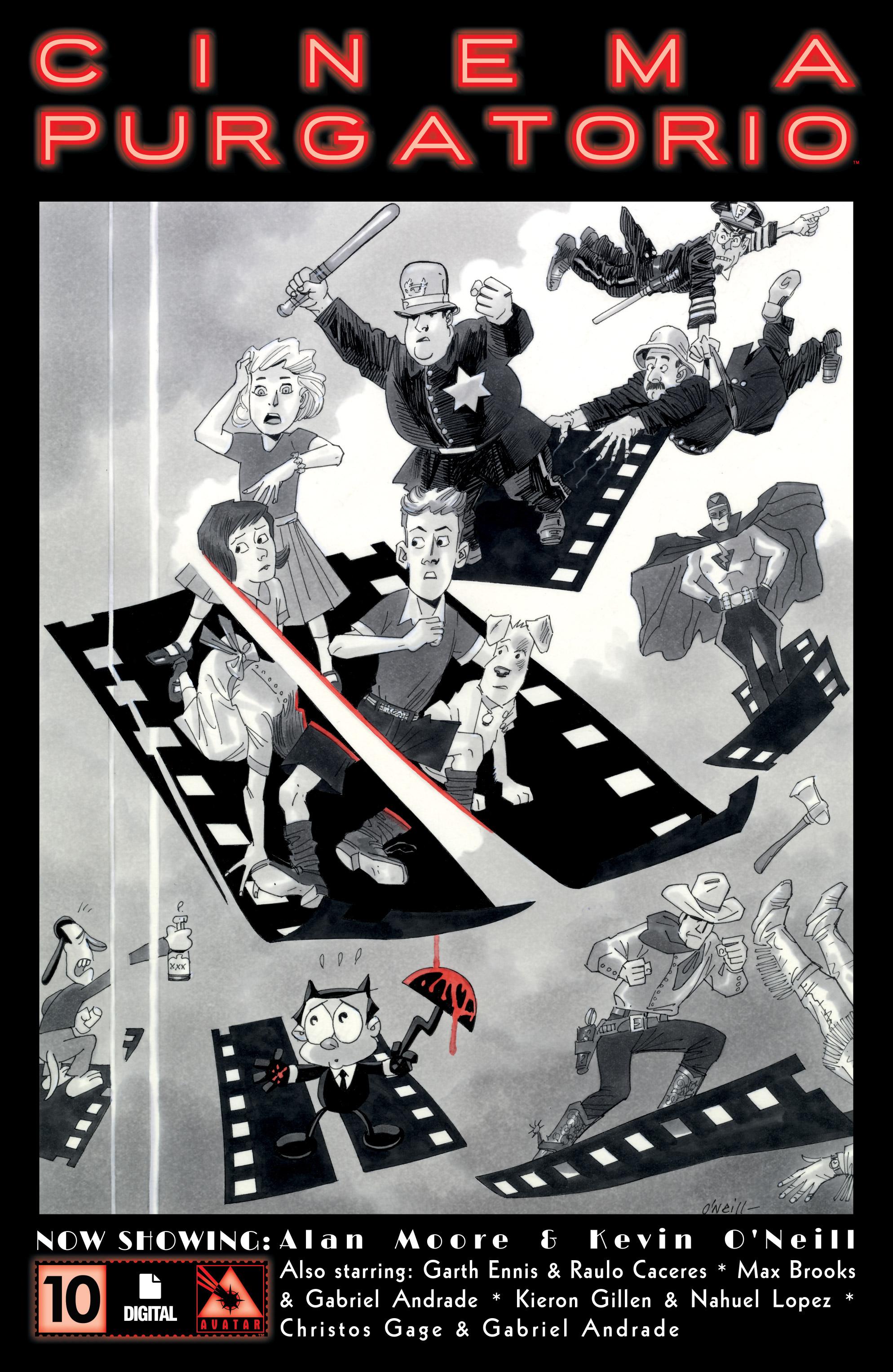 Read online Alan Moore's Cinema Purgatorio comic -  Issue #10 - 1