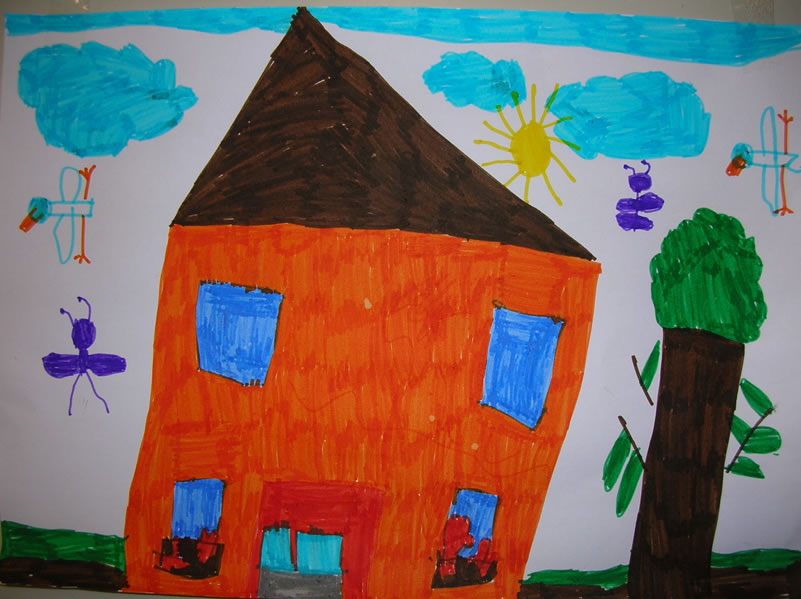 Viveredonna l 39 interpretazione dei disegni e significato for Casa disegno