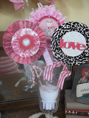 Two Junk Chix Valentine Craft Night