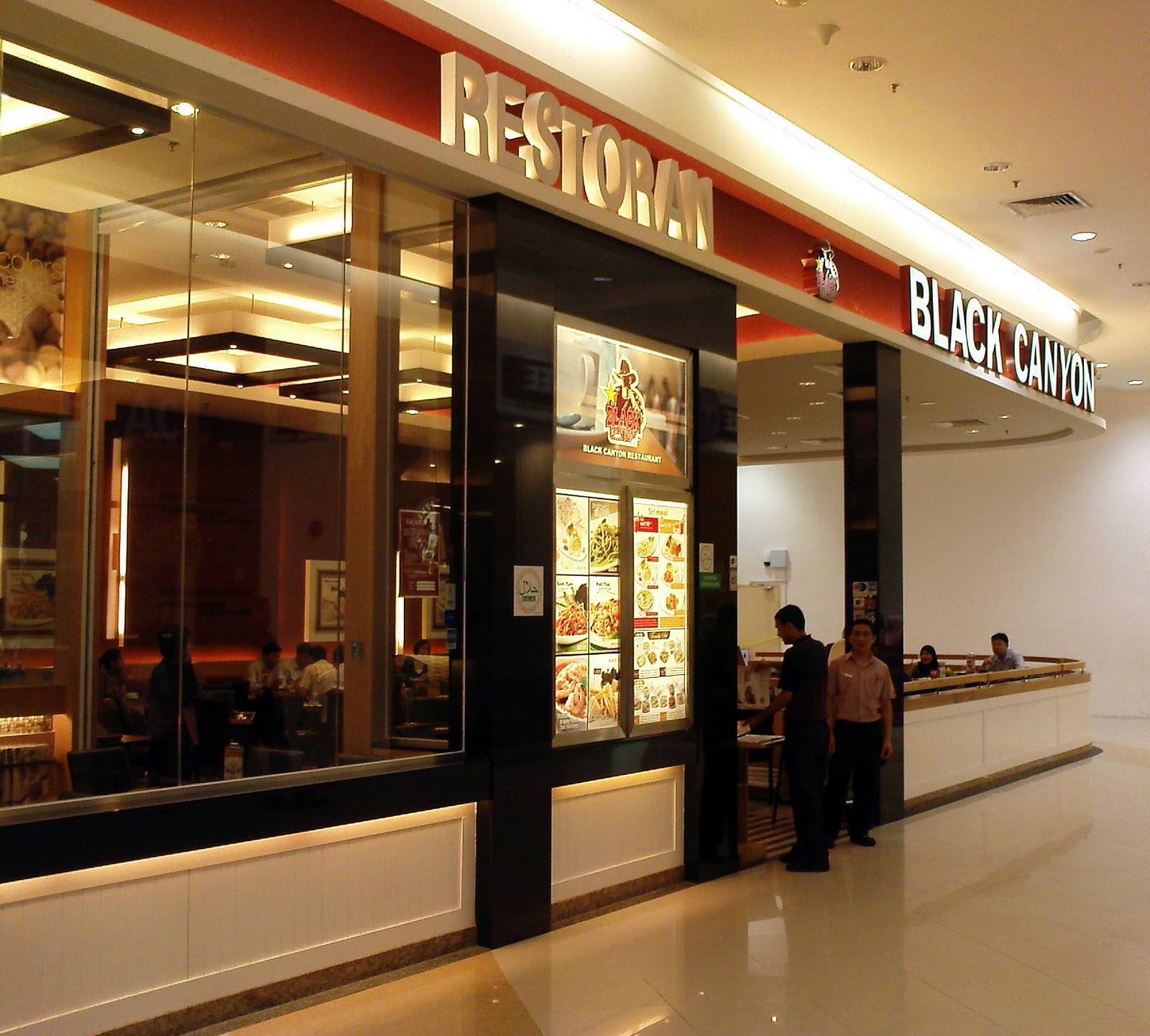 Black Canyon Restaurant Menu Malaysia