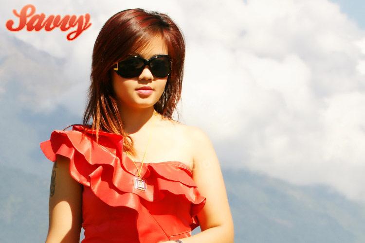 Beautiful Nepali Model Savvy