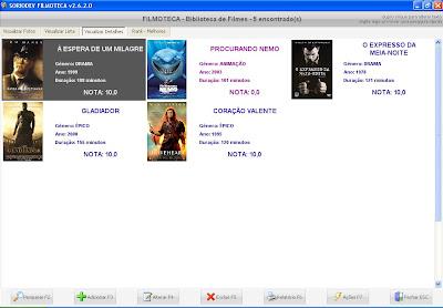 programa para catalogar filmes