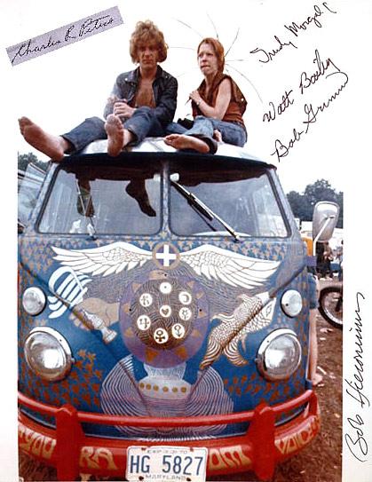Vintage Everyday The Woodstock Bus