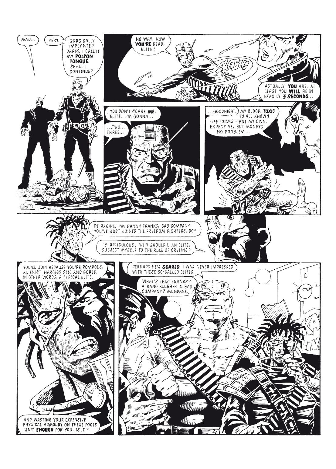 Read online The Complete Bad Company comic -  Issue # TPB - 134