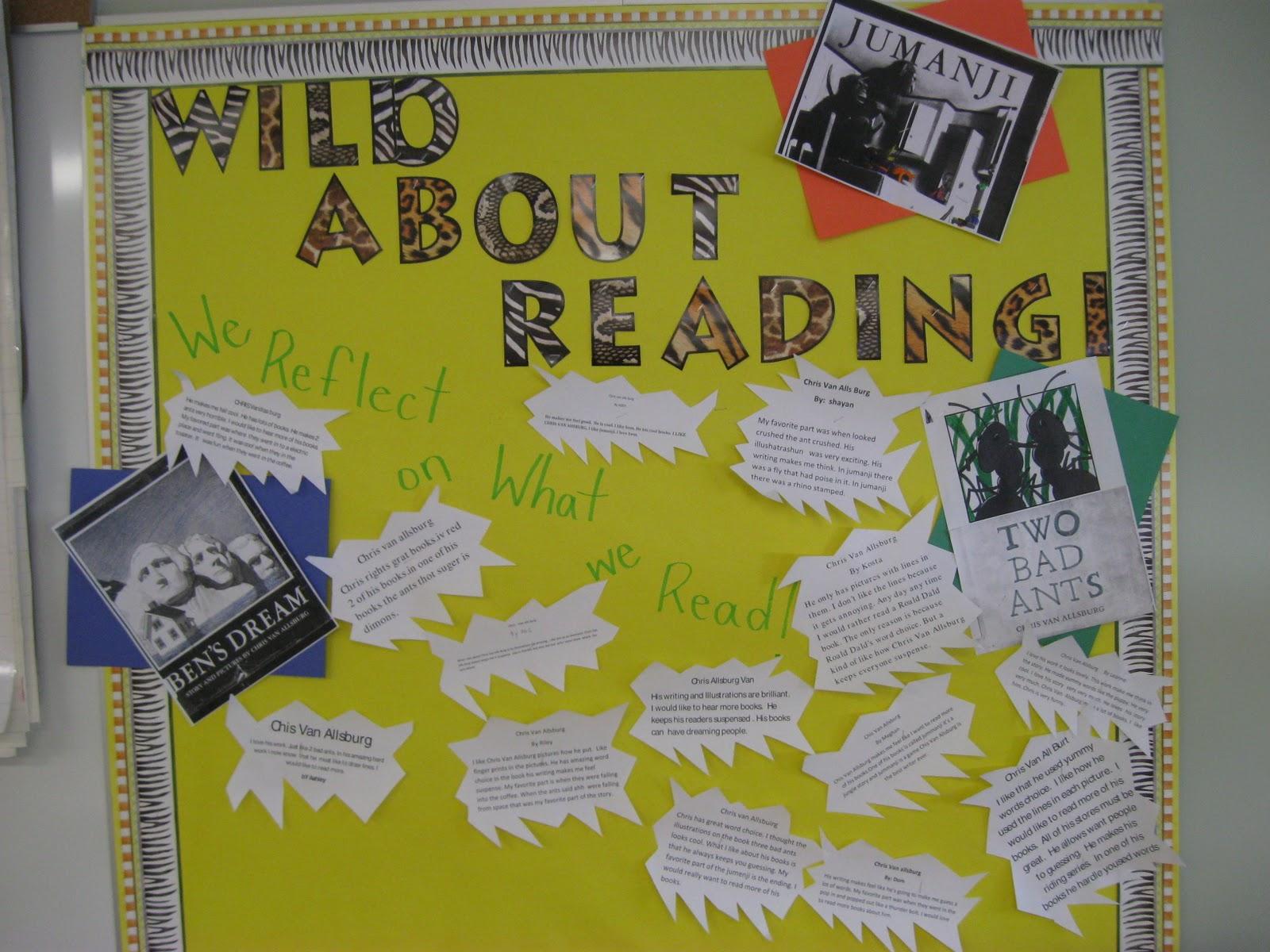 Mrs Stewart S Grade 3 Class Author Study Chris Van Allsburg