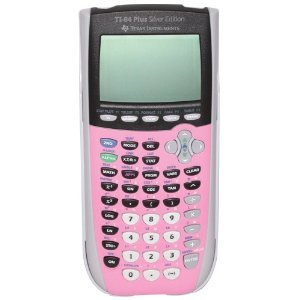 Texas instruments ti-84 plus c silver edition graphing calculator.