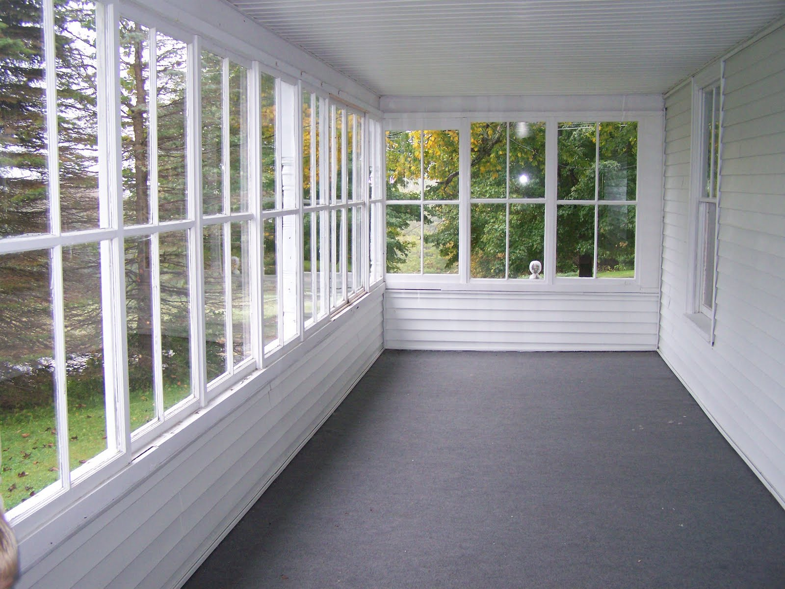 enclosed porch ideas on Pinterest | Enclosed Patio ...