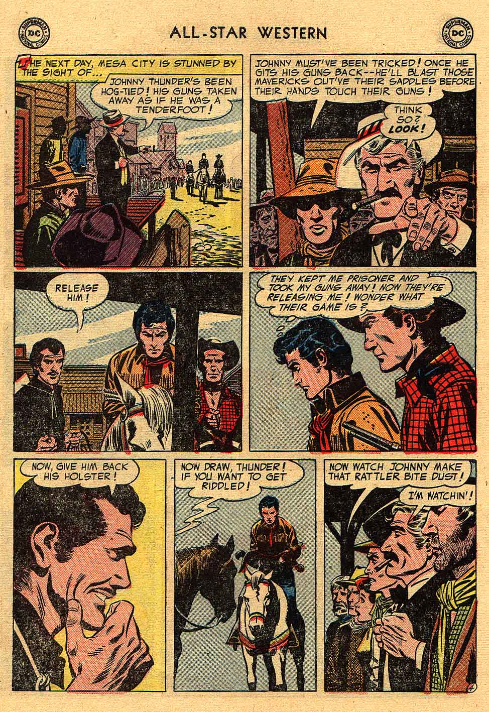 Read online All-Star Western (1951) comic -  Issue #80 - 30
